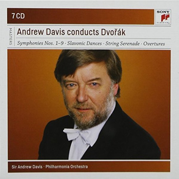 CD Andrew Davis Conducts Dvorak, Davis/Philharmonia