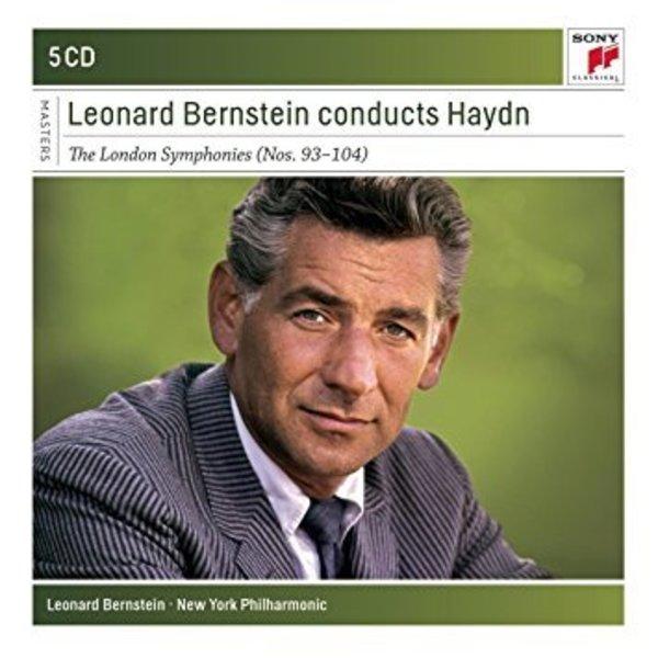 CD Bernstein Conducts Haydn, London Symphonies, Bernstein/NYP