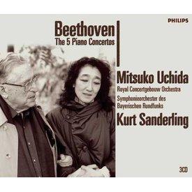 CD Beethoven: Complete PC, Sanderling/Uchida/Bavarian/RCO