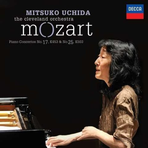 CD Mozart: PC 17 & 25, Uchida/Cleveland