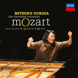 CD Mozart: PC 18 & 19, Uchida/Cleveland