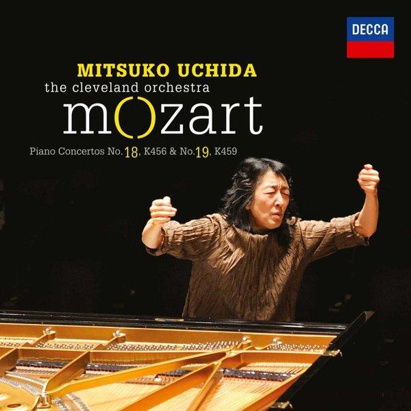 CD Mozart: PC 18 & 19, Uchida/Cleveland