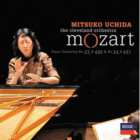 CD Mozart: PC 23 & 24, Uchida/Cleveland