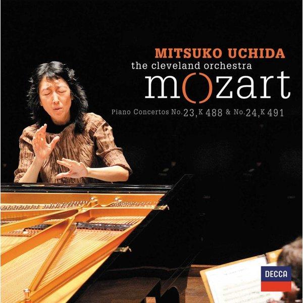 CD Mozart: PC 23 & 24, Uchida/Cleveland