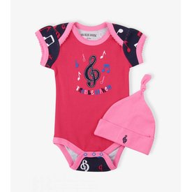 Colorful Notes Infant Onesie