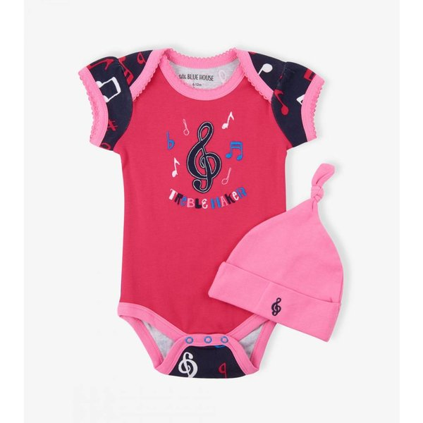 Colorful Notes Infant One Piece