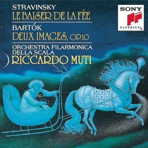 CD Stravinsky: Le Baiser de la Fee, Bartok: Two Images, Muti/La Scala