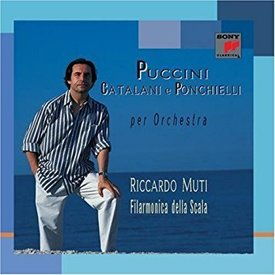 CD Puccini, Catalani, Ponchielli: Works for Orchestra, Muti/La Scala