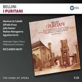 CD Bellini: I Puritani, Muti/Philharmonia