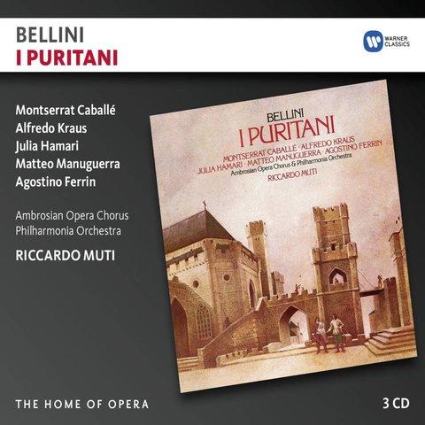 CD Bellini: I Puritani, Muti/Philharmonia