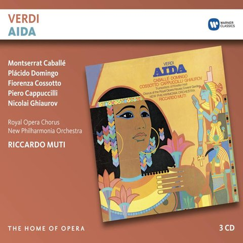 CD Verdi: Aida, Muti/New Philharmonia