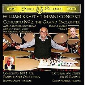 CD Kraft: Timpani Concerti, Polivnick/Herbert/SSV