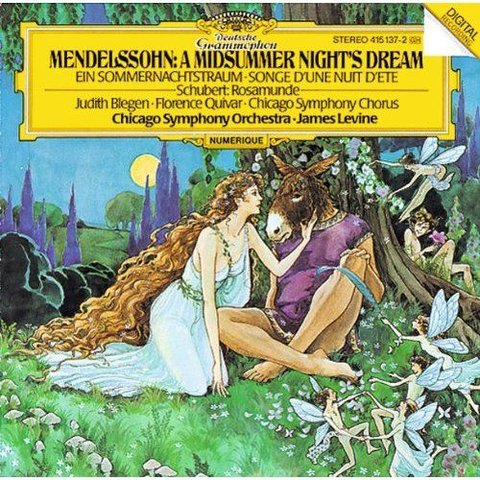 CD Mendelssohn: A Midsummer Night's Dream, Schubert: Rosamunde, Levine/CSO&C