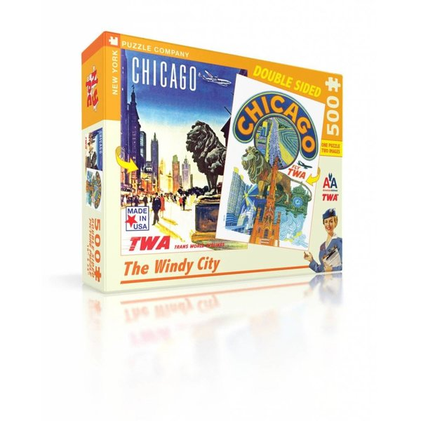 Puzzle - The Windy City Posters