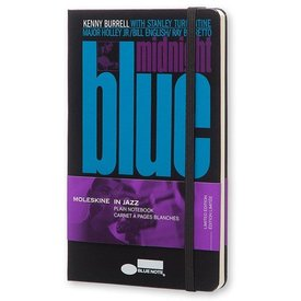 Moleskine Bluenote Notebook, Midnight Blue, Large