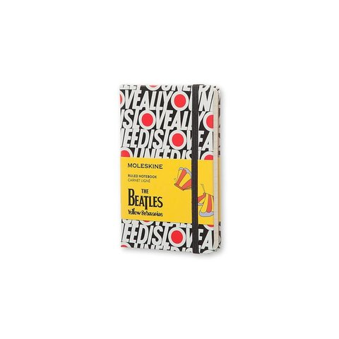 Moleskine The Beatles Notebook, All You Need Is Love