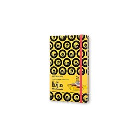 Moleskine The Beatles Notebook, Yellow Submarine, Large
