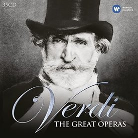 CD Verdi: The Great Operas