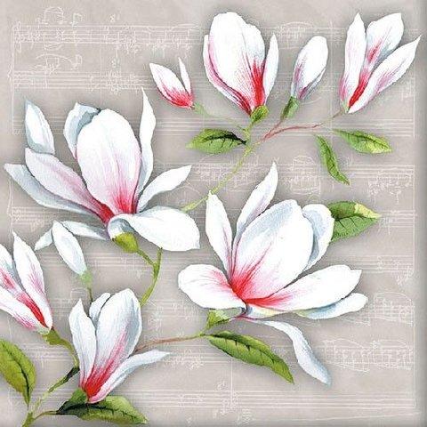 Musical Magnolia Napkins