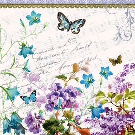 Romantic Pure Butterfly Napkins