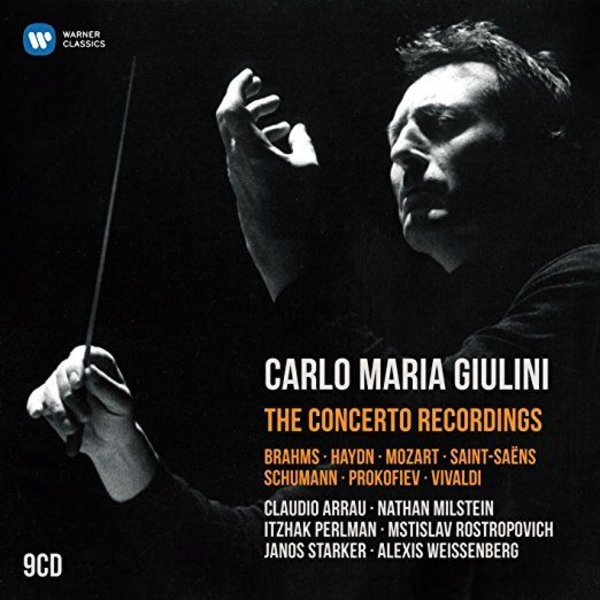 CD Carlo Maria Giulini: The Concerto Recordings