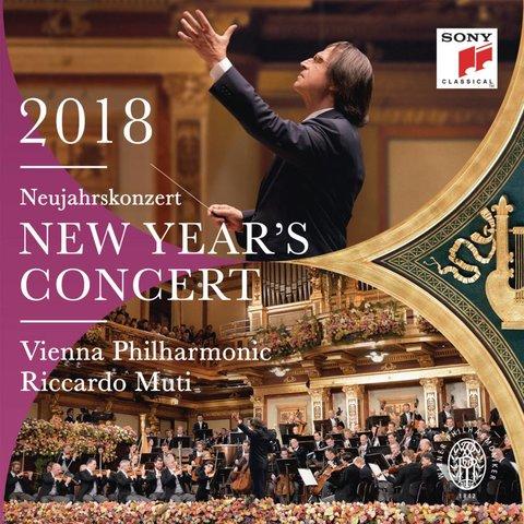 CD New Year's Concert 2018, Muti/VPO