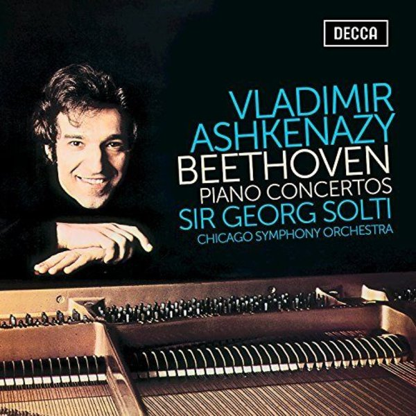CD/BR Beethoven: PCs Solti/Ashkenazy/CSO