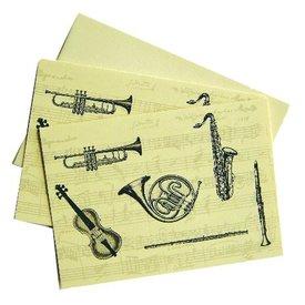 Musical Instruments Notecard Set