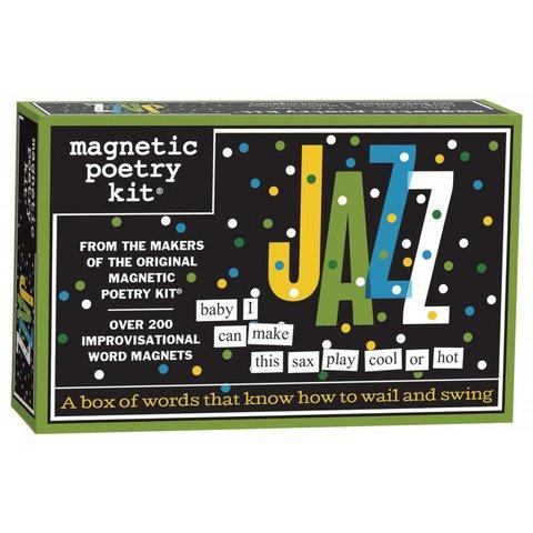 Jazz Magnetic Poetry Kit