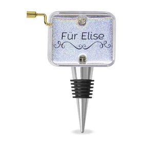 """Fur Elise"" Music Box Wine Stopper"