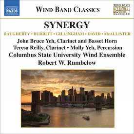 CD Synergy: Clarinet Concertos for Wind Band, Rumbelow/Yeh/CSUWE