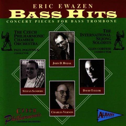 CD Ewazen: Bass Hits - Concert Pieces for Bass Trombone, Polivnick/Cortese/Vernon/CPCO
