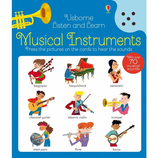 Listen and Learn: Musical Instruments, Robson