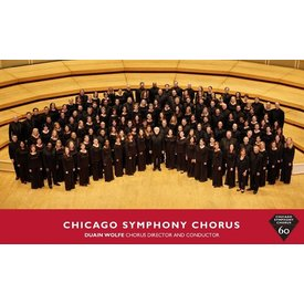 Chicago Symphony Chorus 60th Anniversary Magnet