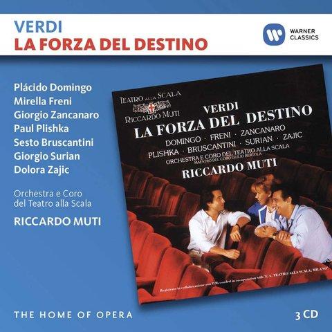 CD Verdi: La Forza del Destino, Muti/La Scala