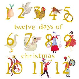 Twelve Days of Christmas Boxed Notes