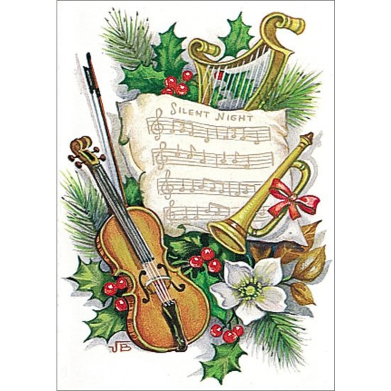 Symphony Store - Boxed Notes - Silent Night with Instruments ...