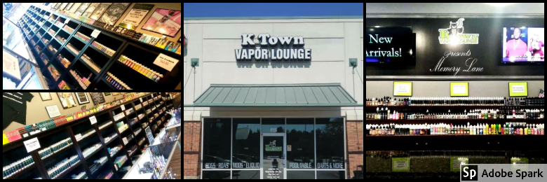 K Town Vapor Lounge e-Liquids