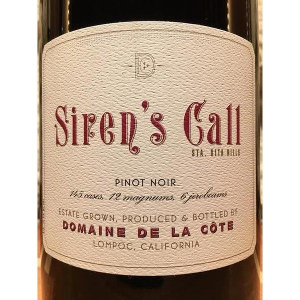 """2014 Domaine De La Cote """"Sirens Call"""" Pinot Noir 750ML"""