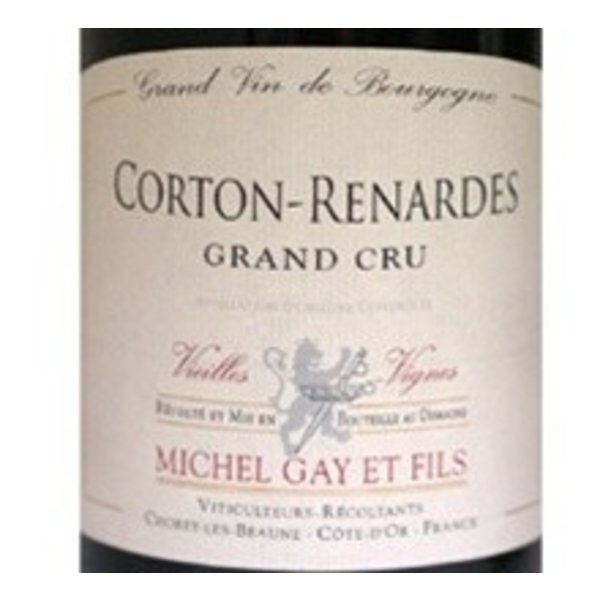 2011 Michel Gay Corton Renardes Grand Cru VV 750ML