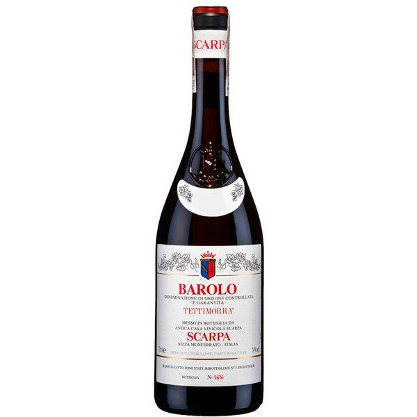 2001 Scarpa Barolo Tettimorra 750ml
