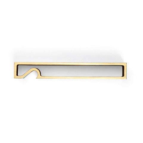Japanese Brass Rectangle Bottle Opener