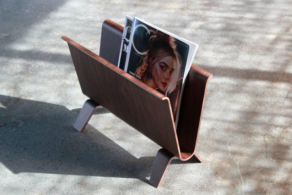 Wood Magazine Stand
