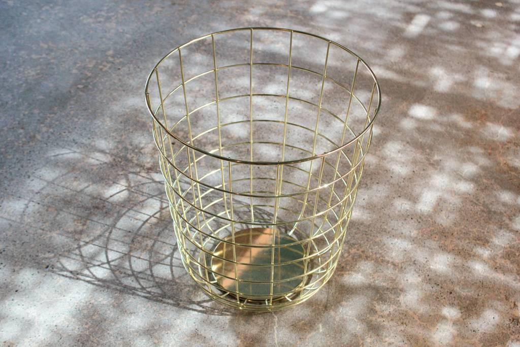 Brass Basket