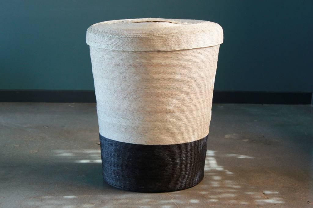 Handmade Basket with Lid
