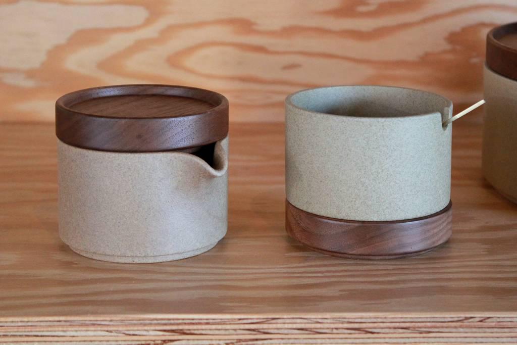 Hasami Natural Sugar Pot