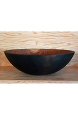 Ebonized Cherry Bowl 17""