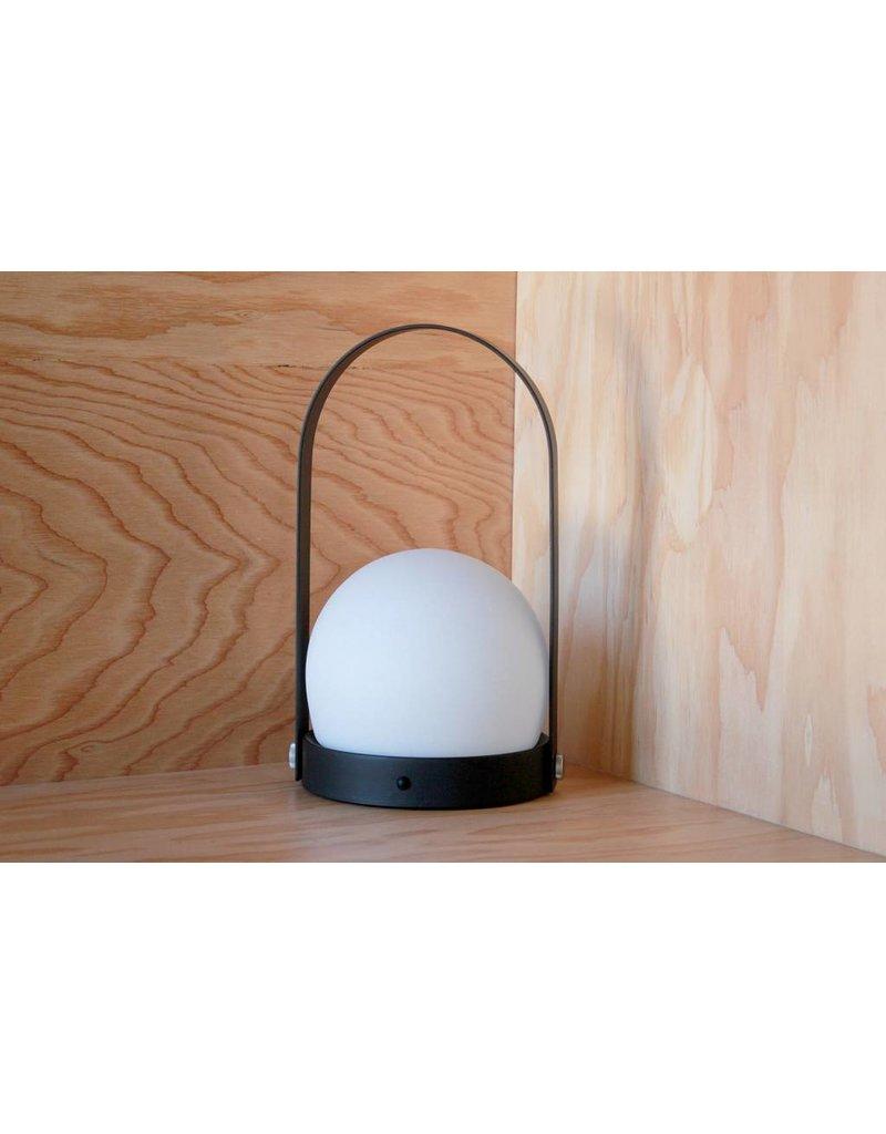 LED Black Portable Lamp