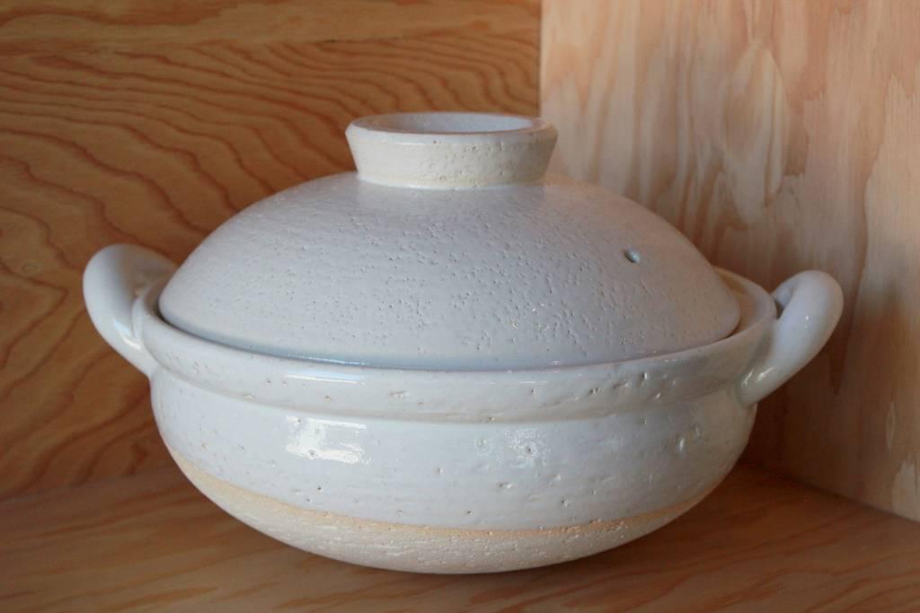 Donabe White Steamer