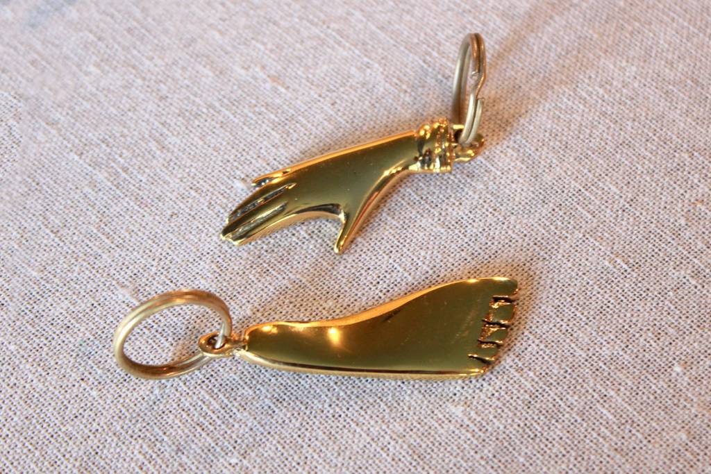 Carl Auböck Foot Key Ring